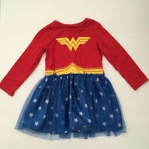 Wonder Woman size 3T dress, perfect for dress up